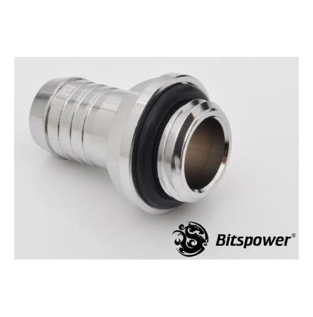 """Bitspower nippel, 1/4""""BSPx3/8""""ID"""