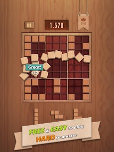 Woody 99 – Sudoku Block Puzzle – Free Mind Games App Download For Android and iPhone 8