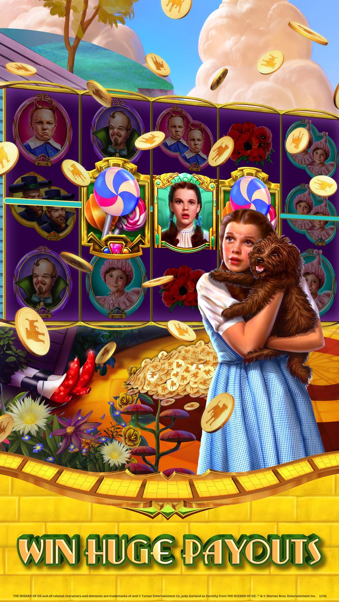 Wizard of Oz Free Slots Casino screenshot #1