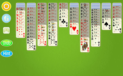 Spider Solitaire Mobile  screenshots 11
