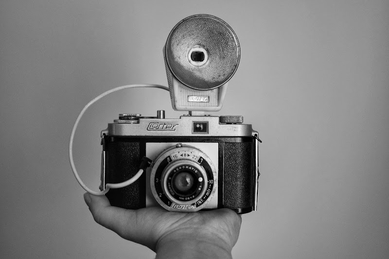 Fotocamera in bnw di francescagraffeo