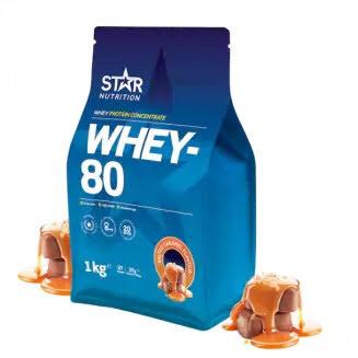 Star Nutrition Whey 80 1kg - Salted Caramel