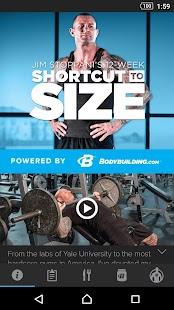 Jim Stoppani Shortcut to Size - náhled