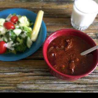 Crock Pot Chili Soup from Leftovers
