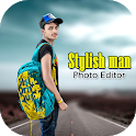 Stylish Man Photo Editor icon
