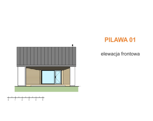 Pilawa 01 - Elewacja przednia