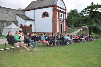 Photo: Adaptační kurz - 3. a 4. den (pátek 7. a sobota 8. září 2012). Hrad Hukvaldy.