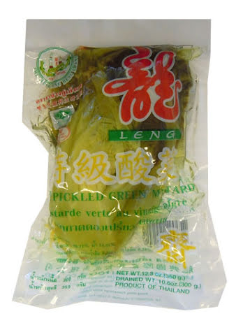 Sour Green Mustard 350g Leng Heng