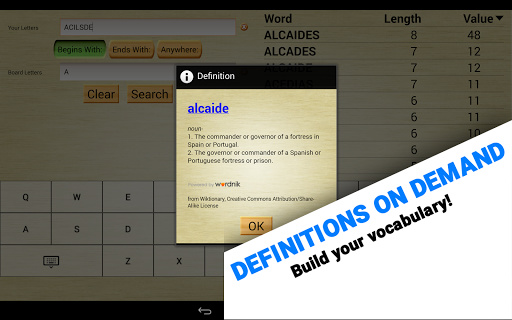 Word Breaker (Scrabble Cheat) 5.7.3 screenshots 9