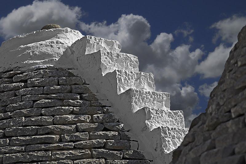 La scala sul trullo di Pinco_Pallino