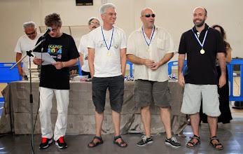 Photo: Top 3 Greek players of Ikaros 2014 (from left): S. Gazis, Th. Karagiannis, G. Theodorakopoulos