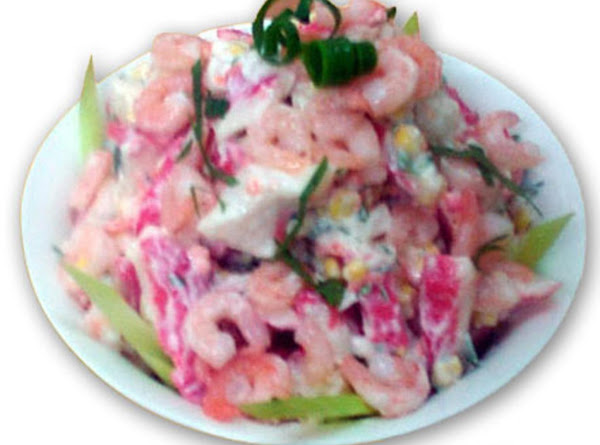 Tropical Seafood Salad Recipe