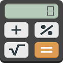 Calculator with percentage icon