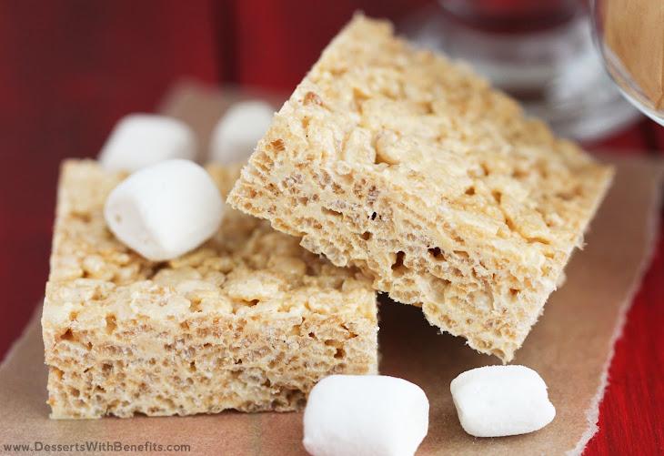 Healthy Protein Krispy Treats Recipe