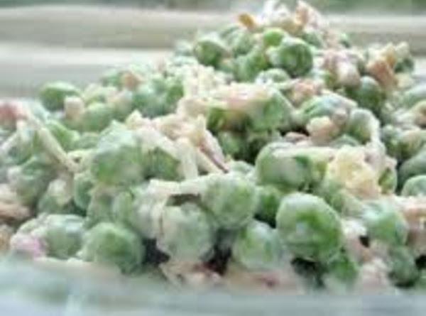 Creamed Peas Deluxe Recipe