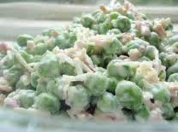 Creamed Peas Deluxe Recipe