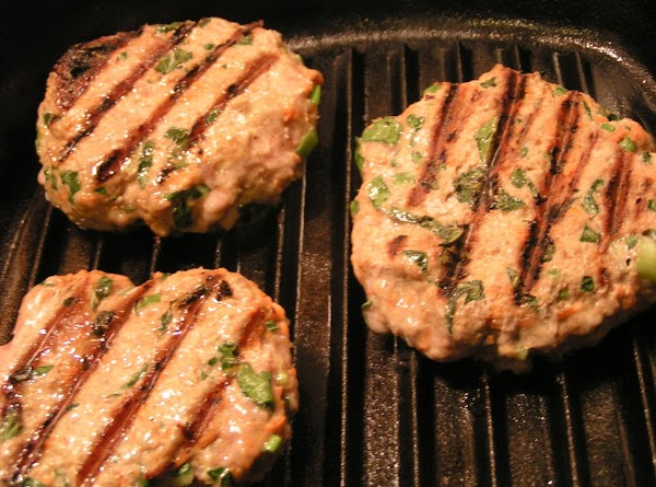 Coat iron skillet grill with white truffle EVOO. Heat skillet and then  place...