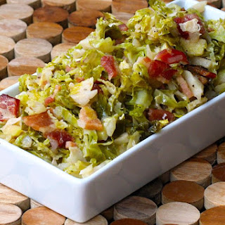 Quick Shredded Brussels Sprouts with Bacon Recipe