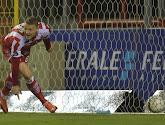 Deivydas Matulevicius a inscrit son premier but avec Mouscron