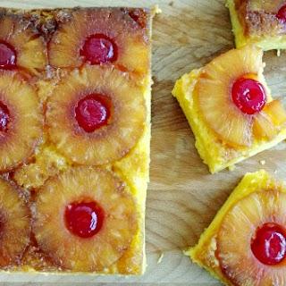 Crock-Pot Pineapple Upside Down Cake.