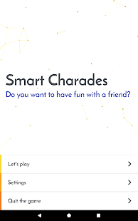 Smart Charades EN- screenshot thumbnail