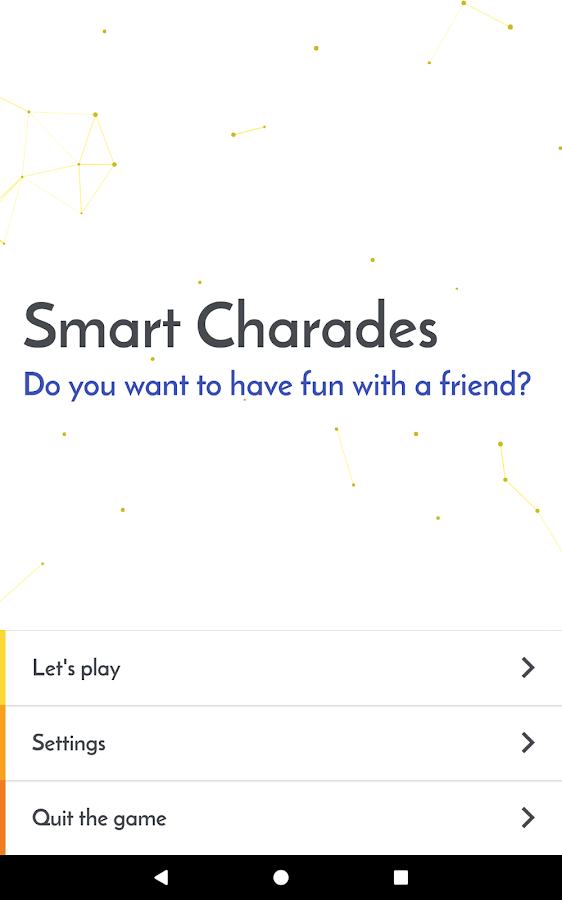 Smart Charades EN- screenshot