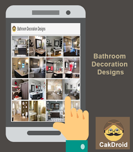 Návrh koupelnové dekorace - náhled