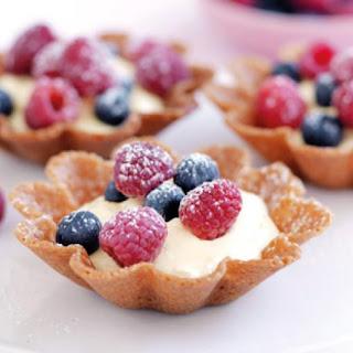 Cheesecake Baskets.
