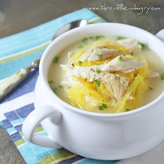 Low Carb Avgolemeno (Greek Chicken, Lemon & Egg Soup).