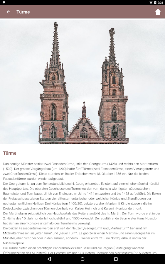 Basler Münster- screenshot