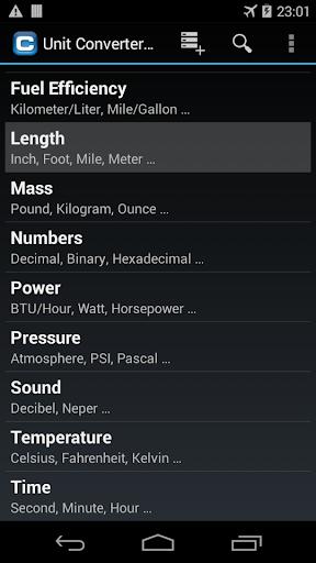 Unit Converter Pro 3.24 screenshots 1