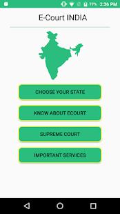 E Court - náhled
