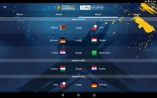 France 2017 Handball WC Live screenshot 11