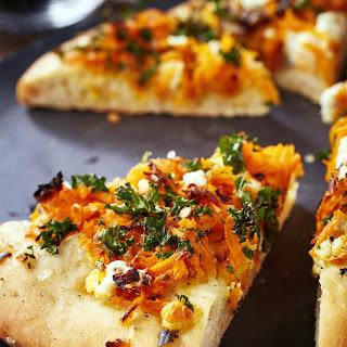 Kale and Sweet Potato Pizza Recipe
