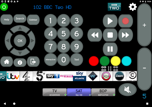 Remote for Onkyo AV Receivers & Smart TV/Blu-Ray screenshot 5
