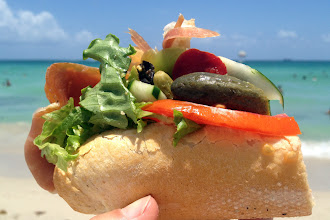 Photo: Sandwiches on the beach http://ow.ly/caYpY
