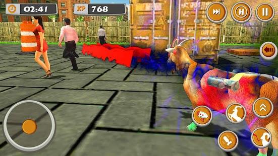 goat rampage simulator - wild life - náhled