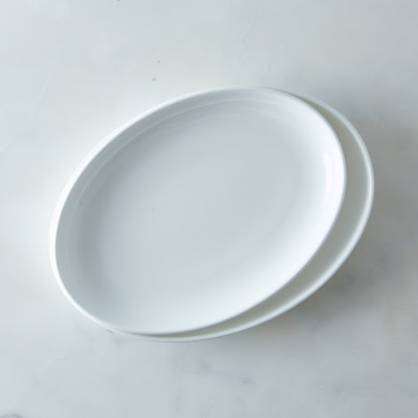 Purio White Serving Platter