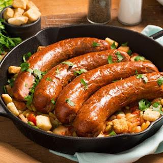 Smoked Sausage Skillet Recipe