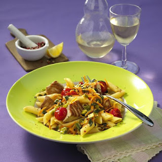 Tuna Steak with Penne Recipe