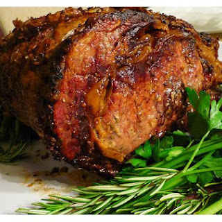 Herb and Salt Crusted Standing Rib Roast