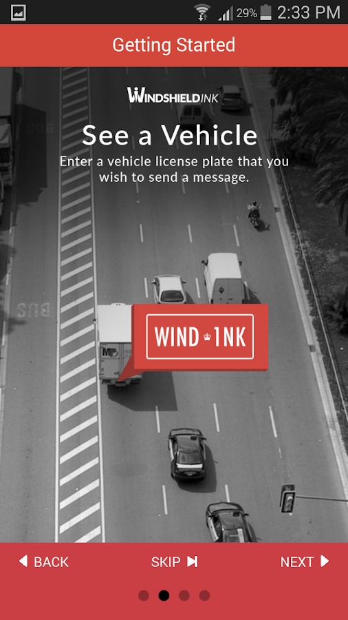 Windshieldink- screenshot