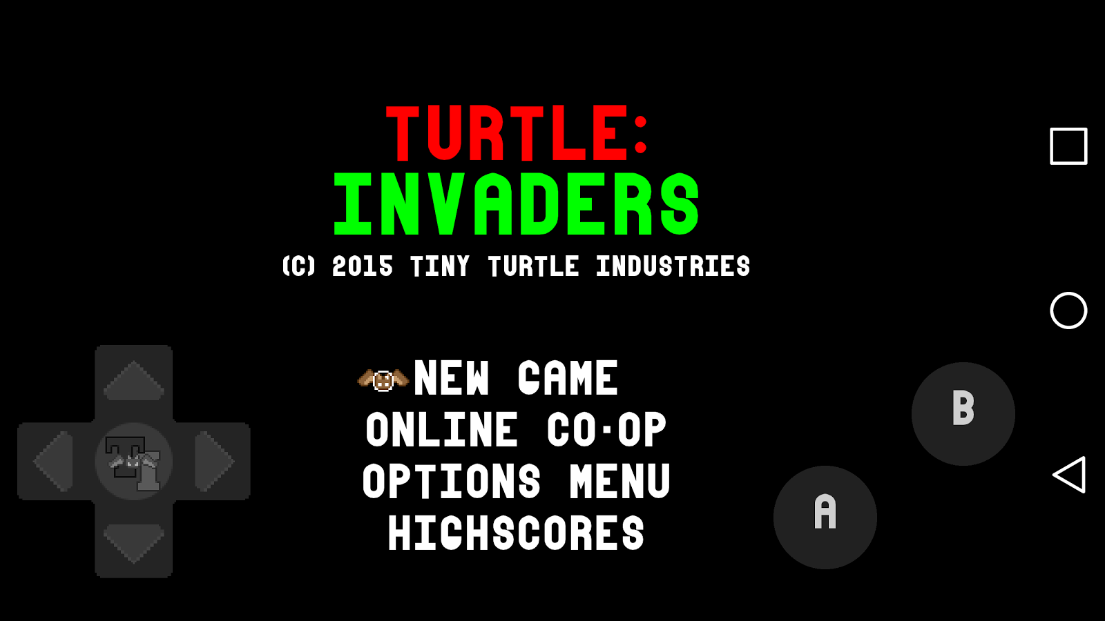 Turtle: Invaders- screenshot