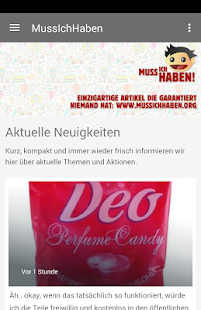MussIchHaben App - náhled