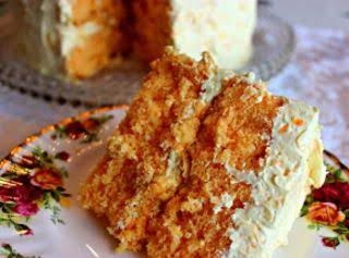 Coconut Orange Cake