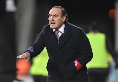 """Vanderhaeghe is op zijn hoede voor Charleroi: """"Zo zijn ze ook eerste geworden in hun groep"""""""