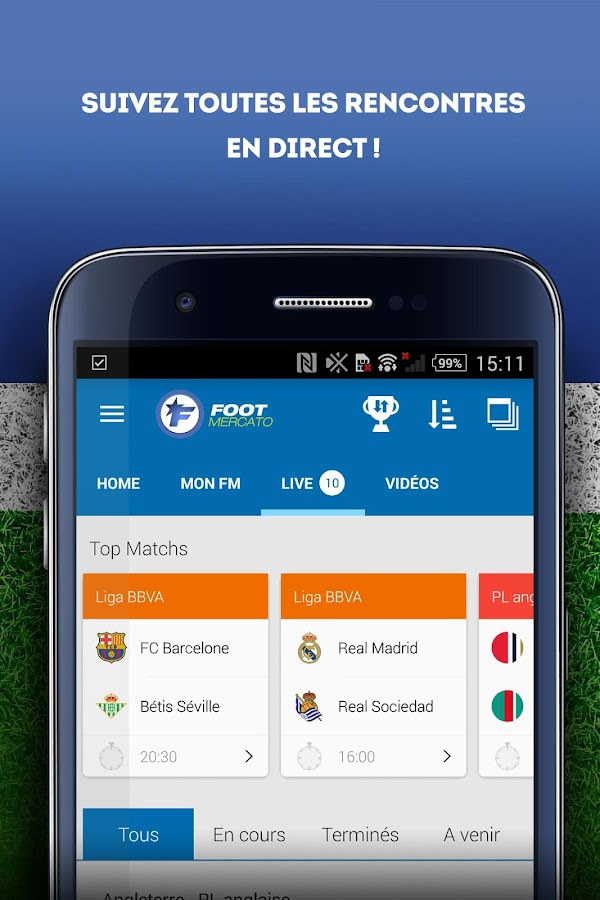 Foot Mercato- screenshot