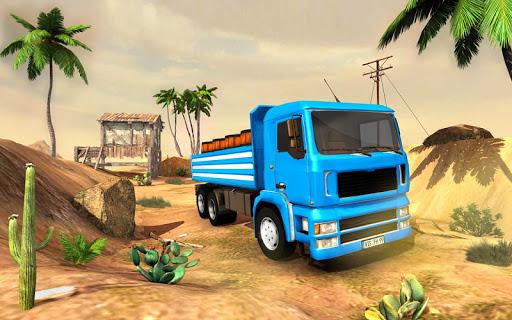 3D Truck Driving Simulator - Real Driving Games screenshot 3