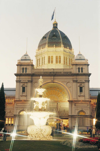 Royal-Exhibition-Building-Carlton-Australia - The Royal Exhibition Building in Carlton Gardens in Carlton, just north of Melbourne, Australia.