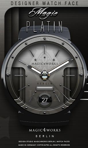 Platin Watch Face